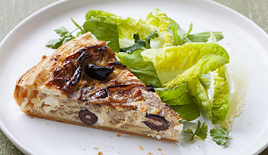 [Photo: Red Onion and Feta Tart]